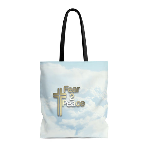 Strength For The Day, Comfort For The Pain, Light For The Way - Printed Tote Bag