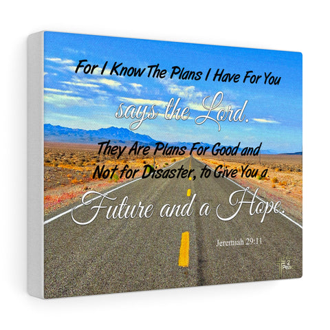 For I Know The Plans I Have For You - Custom Canvas Gallery Wraps