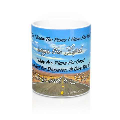 Jesus Knows The Plans - Christian Coffee Cup / Mug 11oz