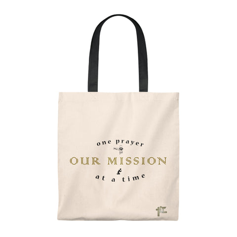 One Prayer At A Time - Tote Bag