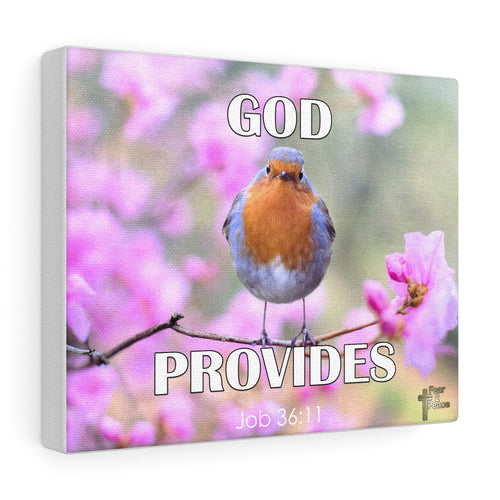 God Provides - Custom Canvas Gallery Wraps