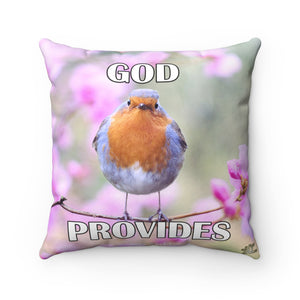 God Provides - Printed Pillow