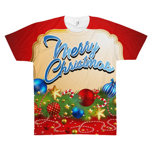 Christmas Is Allowing Jesus Unisex AOP Sublimation Tee