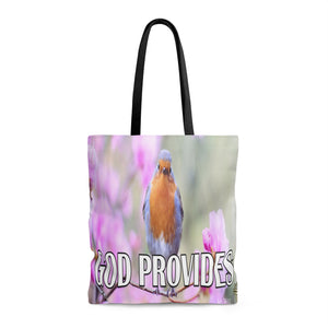 God Provides - Printed Tote Bag