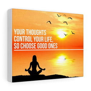 Choose Good Thoughts - Christian Gallery Wrap