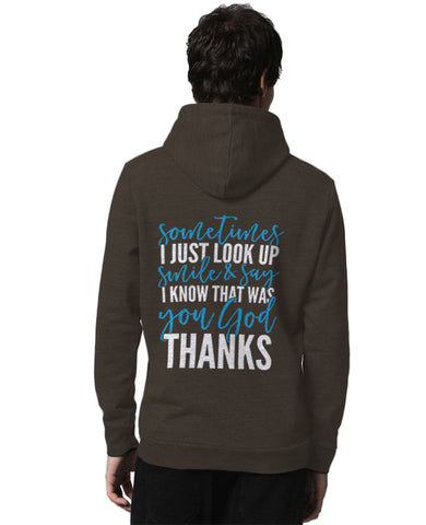 I Know That Was You God Unisex Full Zip Hooded Sweatshirt