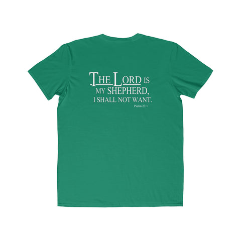 The Lord Is My Shepherd - Mens Round Neck T-Shirt