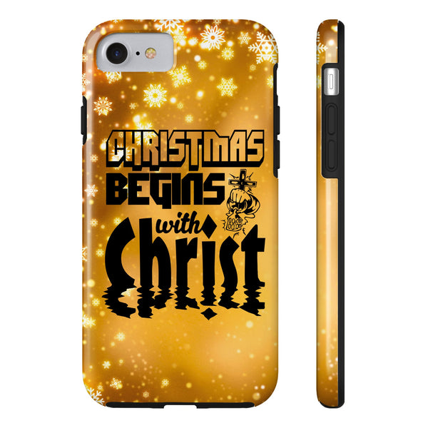 Christmas Begins With Christ All US Phone cases