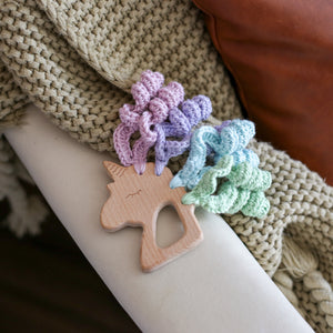 Unicorn Teether - Zoey