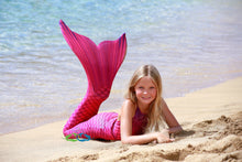 Pink Lilac Sea Pearl Scale Child Tail