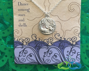 mermaid silver coin jewelry