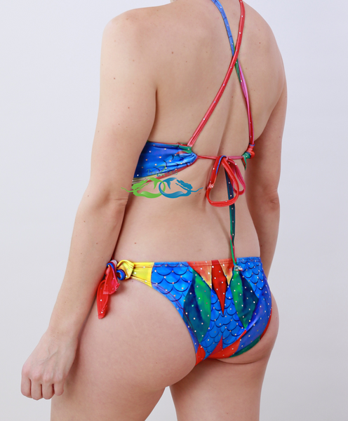 Sea Water Rainbow Mermaid Swimsuit