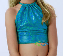Miami Teal Mermaid Swim Top