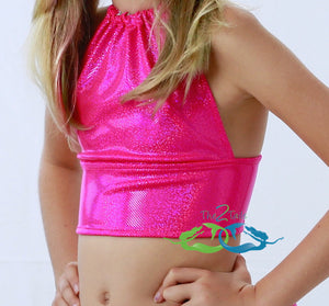 Sparkle Pink<p>Mermaid Swim Top<p/><a/>