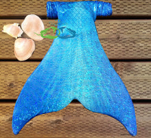 best mermaid fabrics that are swimmable in blue