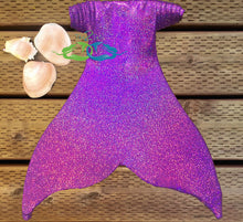 Sparkle Purple Teen Tail