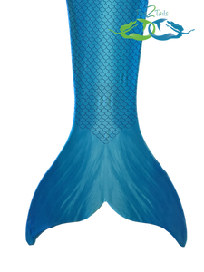 Catalina sea blue swimmable mermaid tail realistic scale design