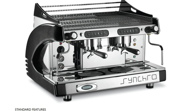 Syncro Espresso Coffee Machine With Grinder Professional