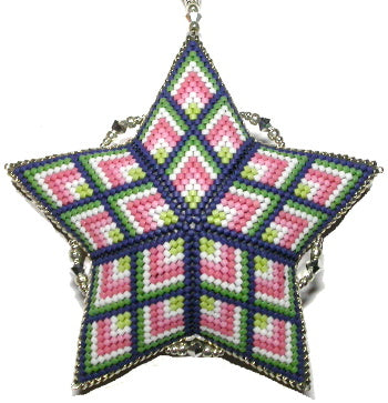 2 GD 2021 Bargello Star - January Geometric Design of the Month