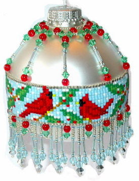 LO Cardinal Loom Ornament