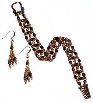 B12DC Zig Zag Bracelet & Earrings