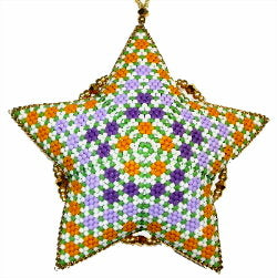 3 GD 2021 Circles Star - February Geometric Design of the Month