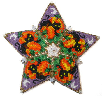 2020 11 C. October Pumpkin Patch Cats Birthstone Star