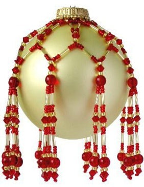 Free Red Tassel Ornament Pattern