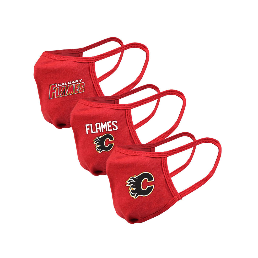 Calgary Flames Youth Guard 2 Assorted Graphics 3-Pack