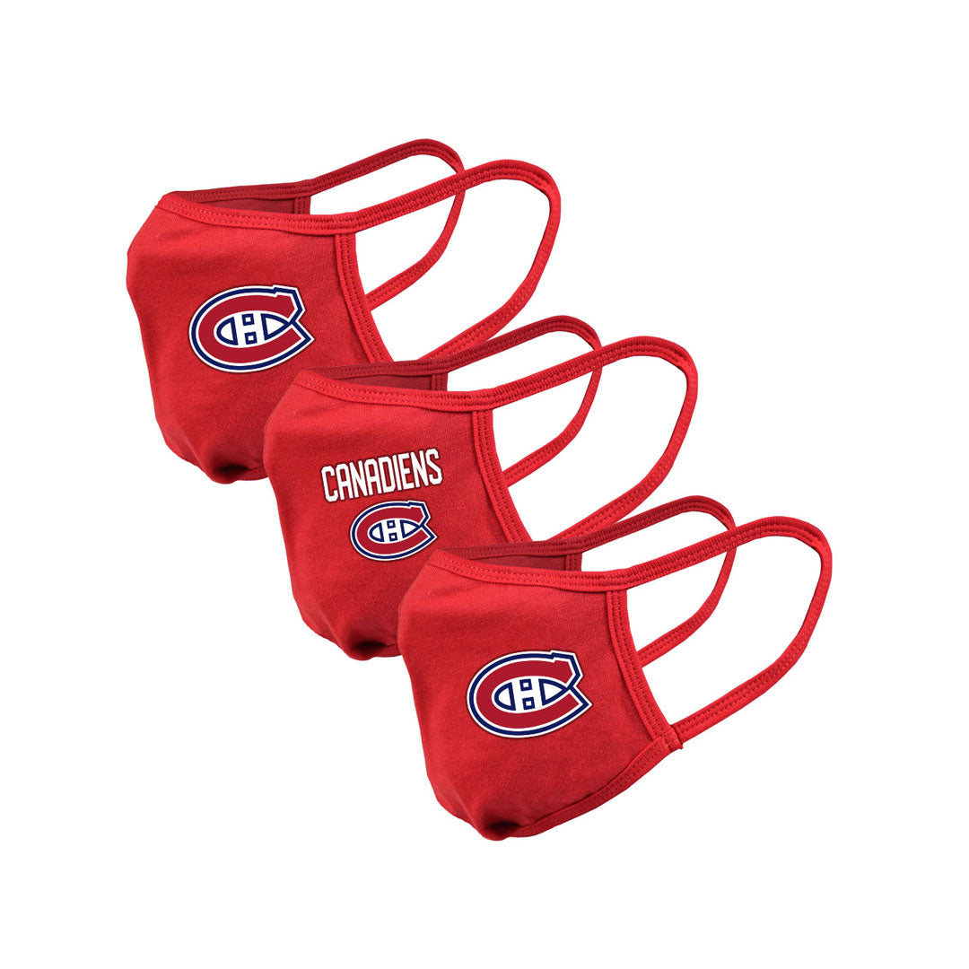Montreal Canadiens Youth Guard 2 Assorted Graphics 3-Pack