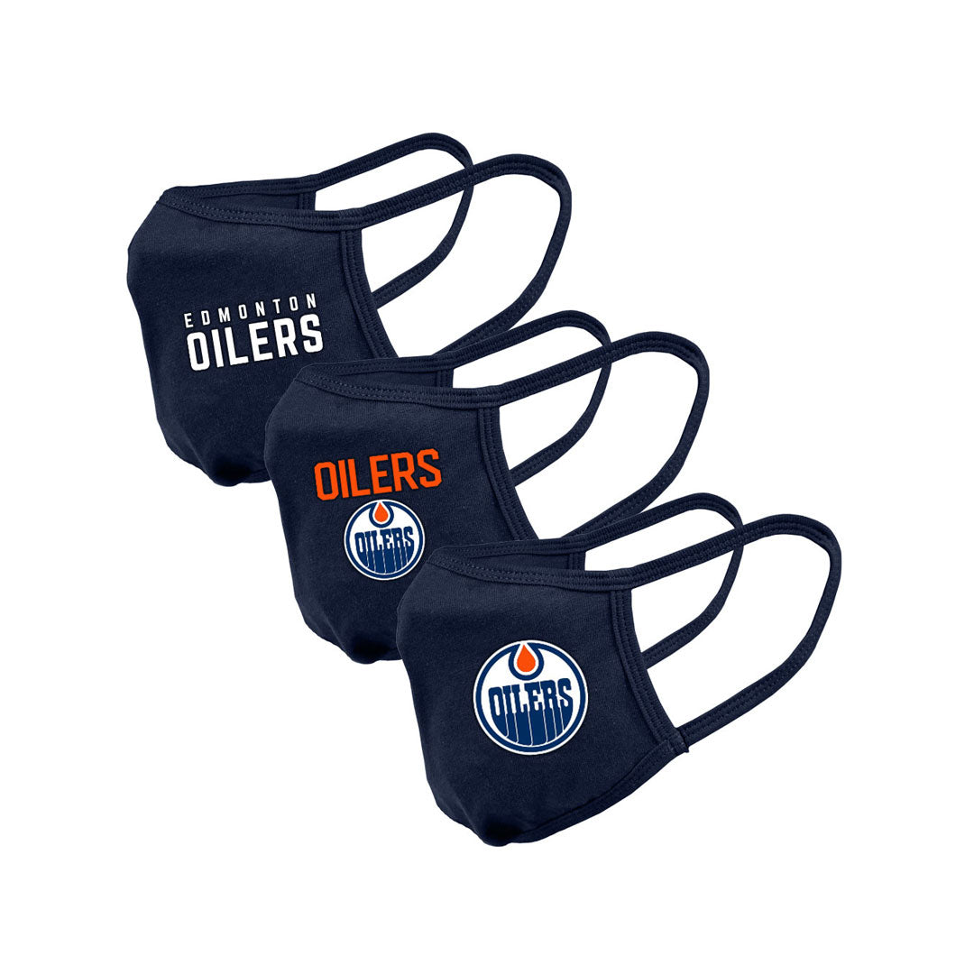 Edmonton Oilers Youth Guard 2 Assorted Graphics 3-Pack