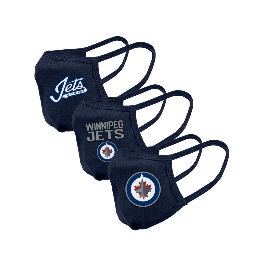 Winnipeg Jets Youth Guard 2 Assorted Graphics 3-Pack
