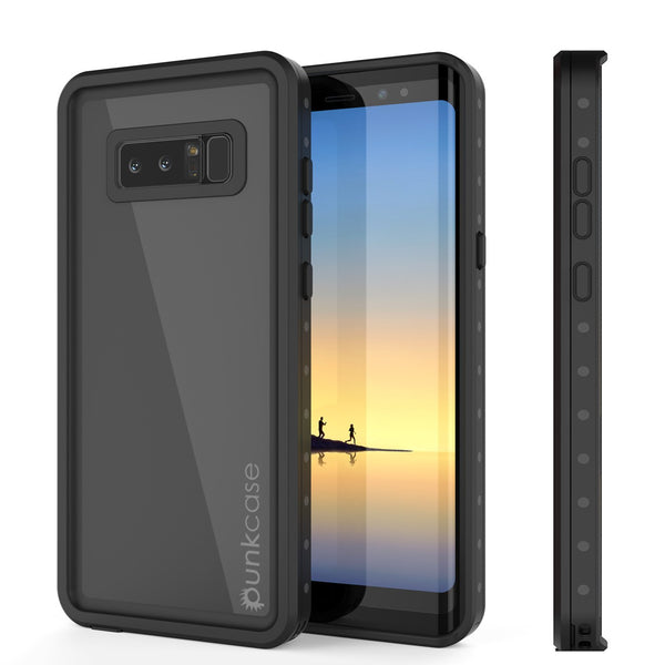 Note 8 Waterproof Case PunkCase StudStar Black