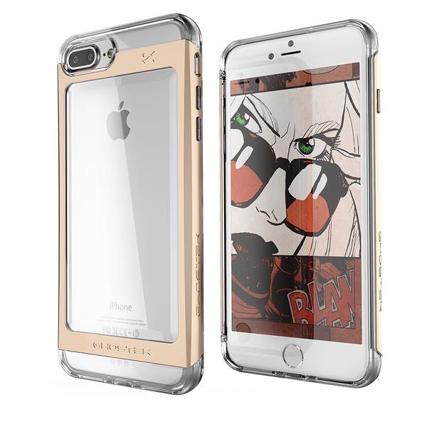 GHOSTEK - Cloak 2.0 Series Armor Case for Apple iPhone 7+ Plus | Gold
