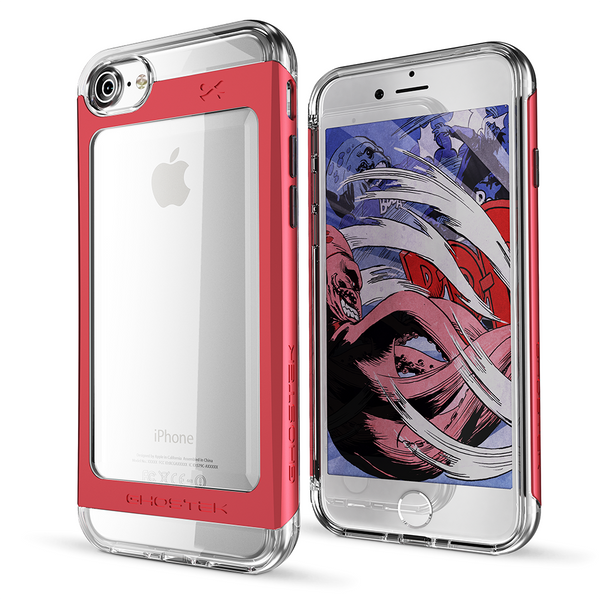 GHOSTEK - Cloak 2.0 Series Armor Case for Apple iPhone 7 | Red