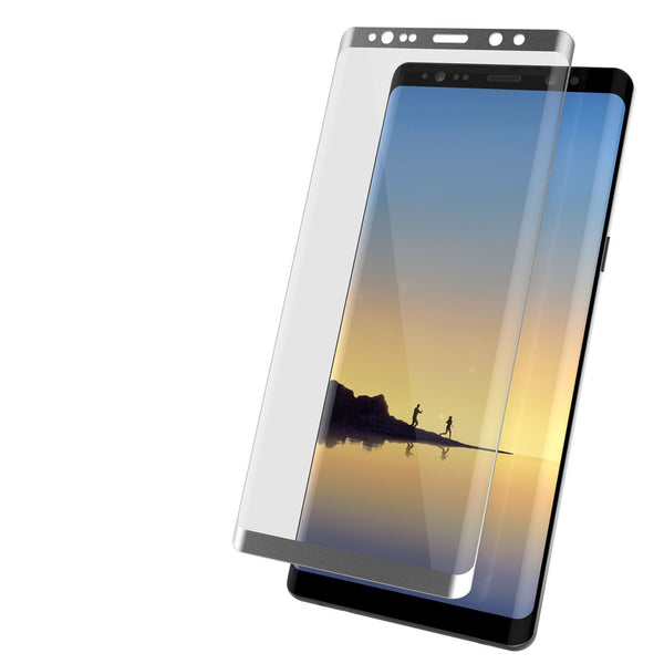 Galaxy Note 9 Silver Punkcase Glass SHIELD Tempered Glass Screen Protector 0.33mm Thick 9H Glass