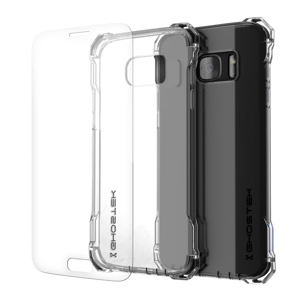 GHOSTEK - Covert Series Premium Impact Case for Samsung S7 Edge | Clear