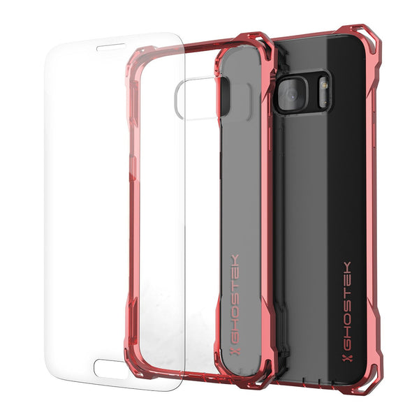 GHOSTEK - Covert Series Premium Impact Case for Samsung S7 Edge | Rose Pink