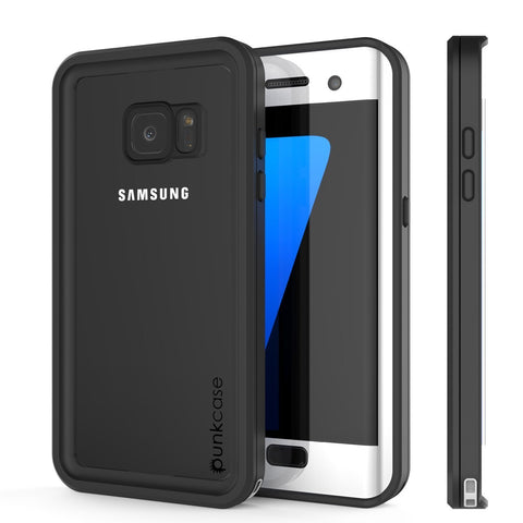 detailing 9e595 9642c Galaxy S7 Edge Case, Punkcase Waterproof [Extreme Series] [Slim Fit] [IP68  Certified] [Shockproof] [Dirproof] Armor Cover W/ Built In Screen Protector  ...