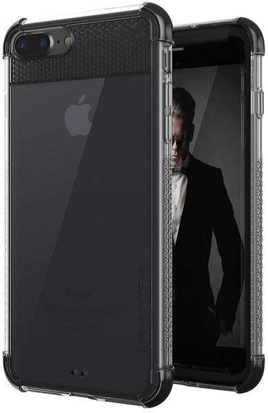 iPhone 7+ Plus Case, Ghostek Covert 2 Series for iPhone 7+ Plus Protective Case [ Black]