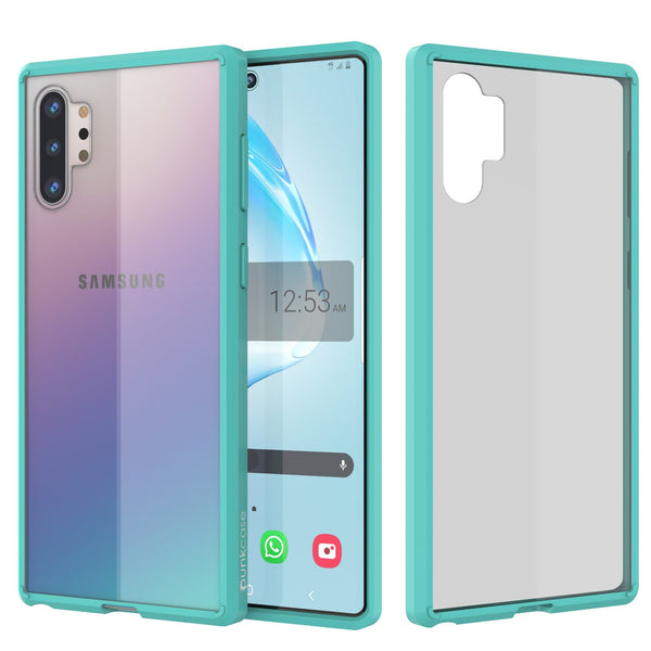 Galaxy Note 10+ Plus Punkcase Lucid-2.0 Series Slim Fit Armor Teal Case Cover