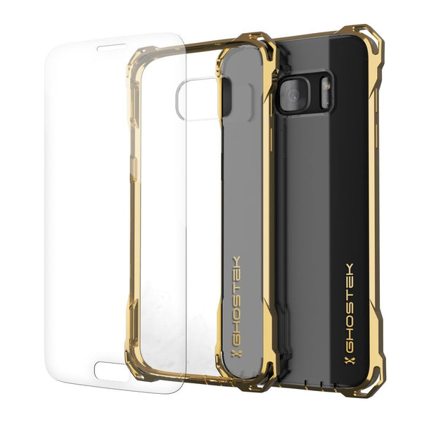 GHOSTEK - Covert Series Premium Impact Case for Samsung S7 Edge | Gold