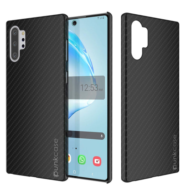 Galaxy Note 10+ Plus Case, Punkcase CarbonShield, Heavy Duty & Ultra Thin Cover