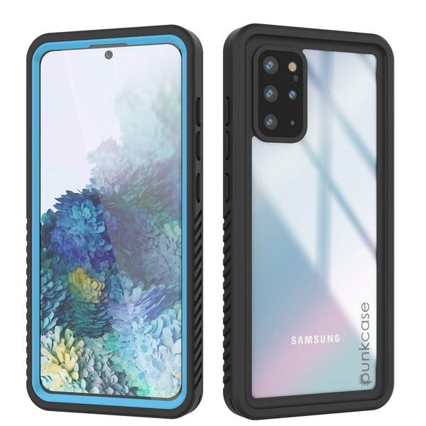 Galaxy S20+ Plus Water/Shock/Snow/dirt proof [Extreme Series] Slim Case [Light Blue]