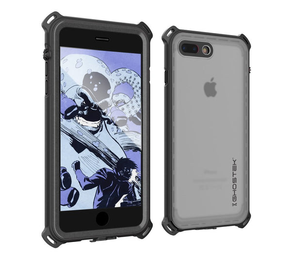 GHOSTEK - Nautical Series Waterproof Case for Apple iPhone 7 Plus | Black
