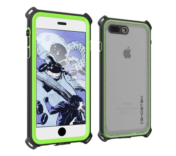 GHOSTEK - Nautical Series Waterproof Case for Apple iPhone 7 Plus | Green