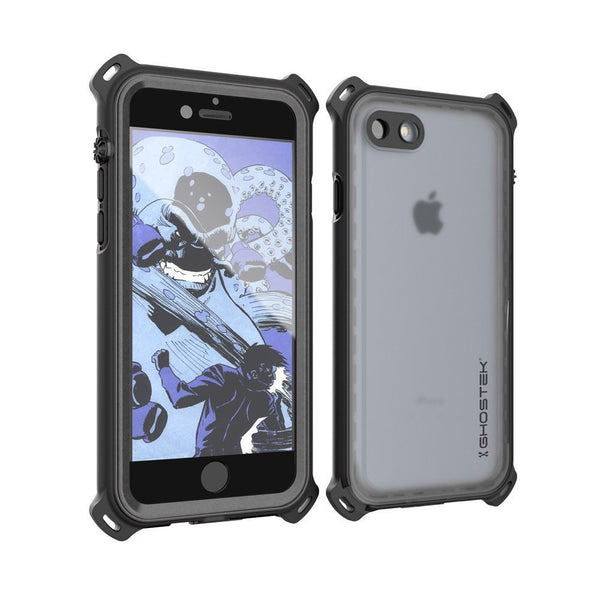 GHOSTEK - Nautical Series Waterproof Case for Apple iPhone 7 | Black