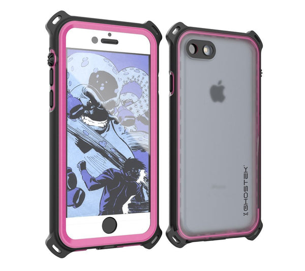 GHOSTEK - Nautical Series Waterproof Case for Apple iPhone 7 | Pink
