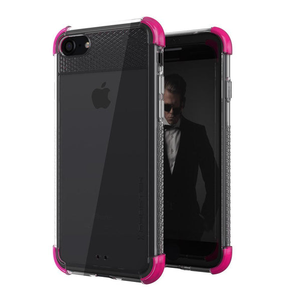 iPhone  8 Case, Ghostek Covert 2 Series for iPhone  8 Protective Case [PINK]