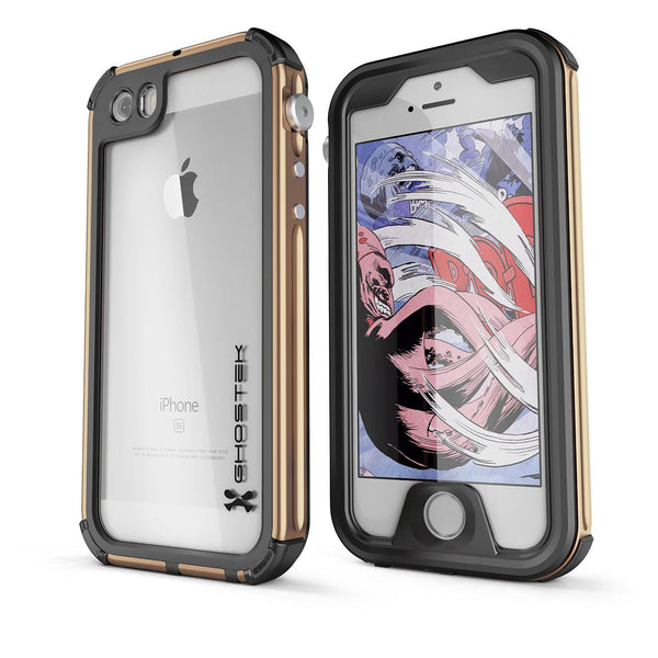 GHOSTEK - Atomic 3.0 Series Waterproof Case for Apple IPhone 7 | Gold